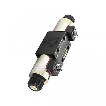 Distributeur hydraulique 40L/min 3 leviers  Vannes directionnelle 3 sections